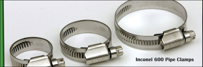 Inconel 600 Pipe Clamps at our Vasai, Mumbai Factory